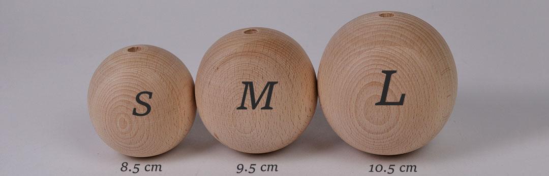 Plezalne krogle lesene