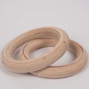 Otroški leseni gimnastični krogi - odlično darilo
