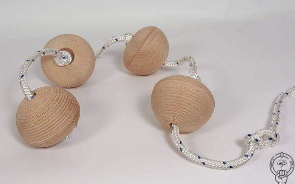Plezalna vrv s kroglami