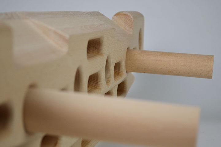 Fingerpeg plezalna trening deska