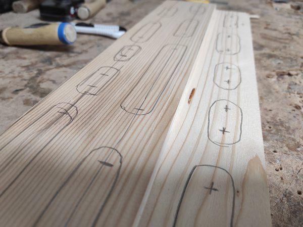 Načrt hangboarda
