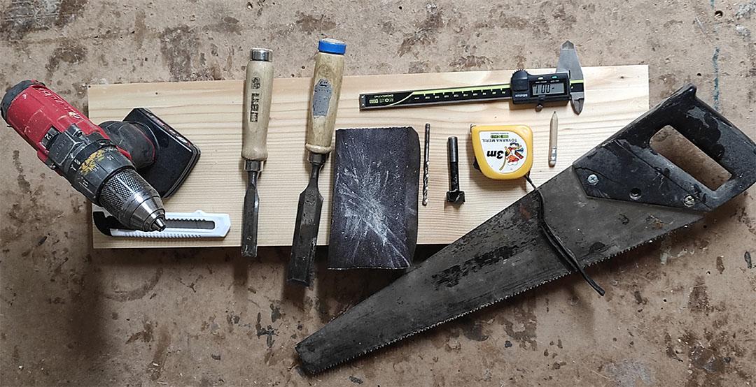Orodje za izdelavo hangboarda