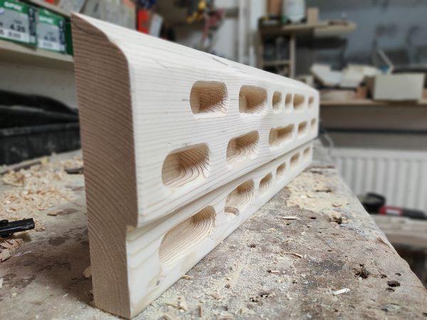 Ročno izdelan hangboard